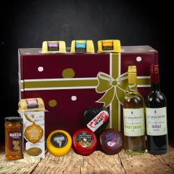 Cheese and Wine Luxury Gift Hamper